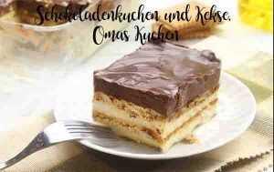 Omas Kuchen Rezepte Mit Bild schokoladenkuchen und kekse omas kuchen rezepte für thermomix
