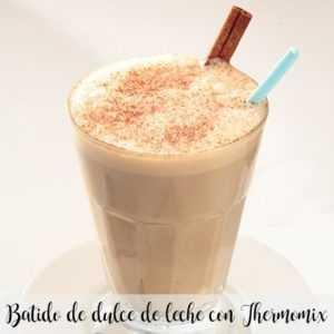Milk Caramel Spread Smoothie mit Thermomix