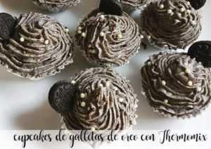 Oreo Cookie Cupcakes mit Thermomix