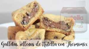 Gefüllte Nutella-Kekse mit Thermomix