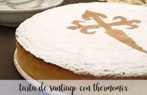 Santiago-Kuchen mit Thermomix