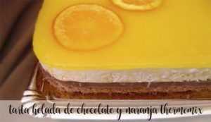 Schokoladen- und Orangen-Eistorte mit Thermomix
