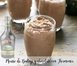 Mousse de Baileys und Schokolade mit Thermomix