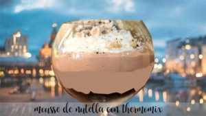 Nutella-Mousse mit Thermomix