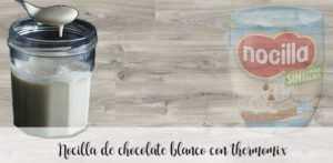 Nocilla aus weißer Schokolade mit Thermomix