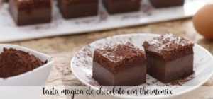 Magischer Schokoladenkuchen mit Thermomix