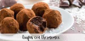 Schokoladentrüffel mit Thermomix