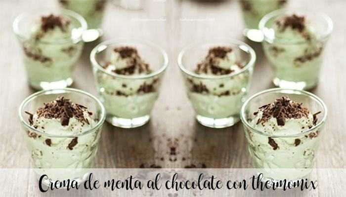 Schokoladenminzcreme mit Thermomix
