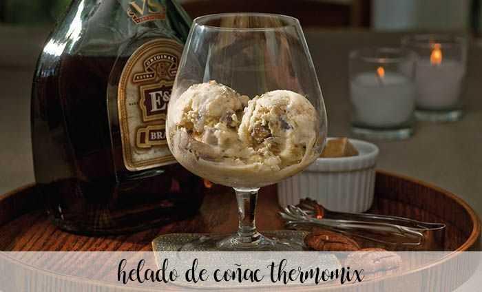 Cognac-Eis mit Thermomix