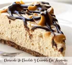 Schokoladen-Karamell-Käsekuchen mit Thermomix
