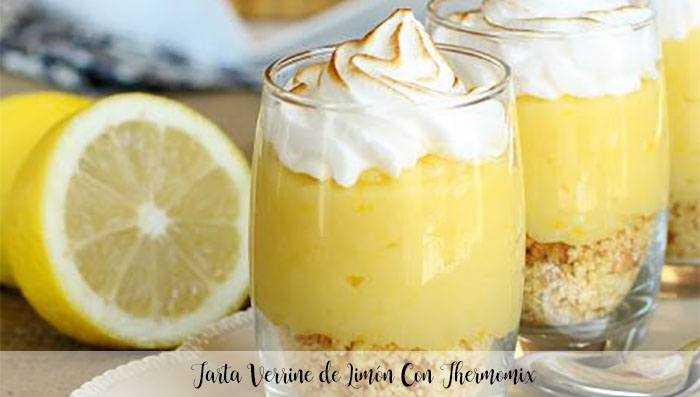Verrine Zitronenkuchen Mit Thermomix