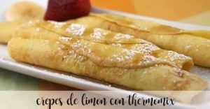Zitronen-Crêpes mit Thermomix