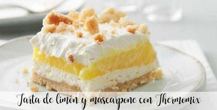 Zitronen-Mascarpone-Kuchen mit Thermomix