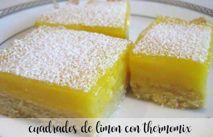 Zitronenquadrate mit Thermomix