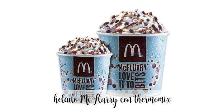 MCFlurry hausgemachtes MCdonalds-Eis mit Thermomix