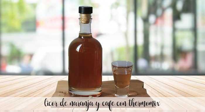 Orangen- und Kaffeelikör mit Thermomix