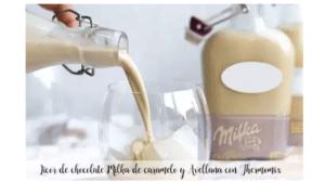 Milka Karamell- und Haselnussschokoladenlikör mit Thermomix