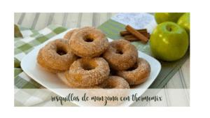 Apfel-Doughnuts mit Thermomix