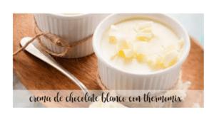 Weiße Schokoladencreme mit Thermomix