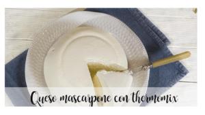 Mascarpone-Käse mit Thermomix
