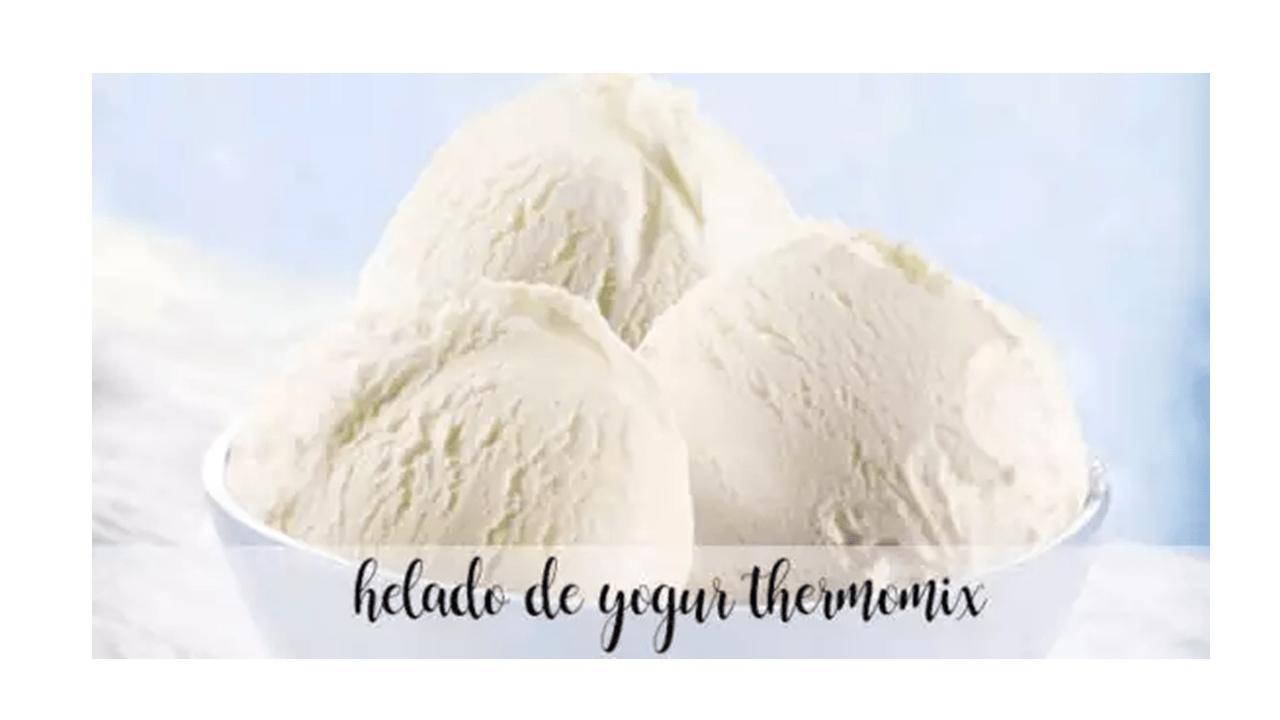 Joghurt-Eiscreme-Rezept mit Thermomix