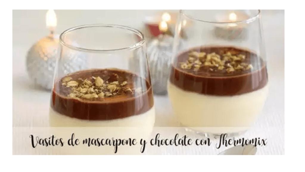 Mascarpone- und Schokoladenbecher mit Thermomix