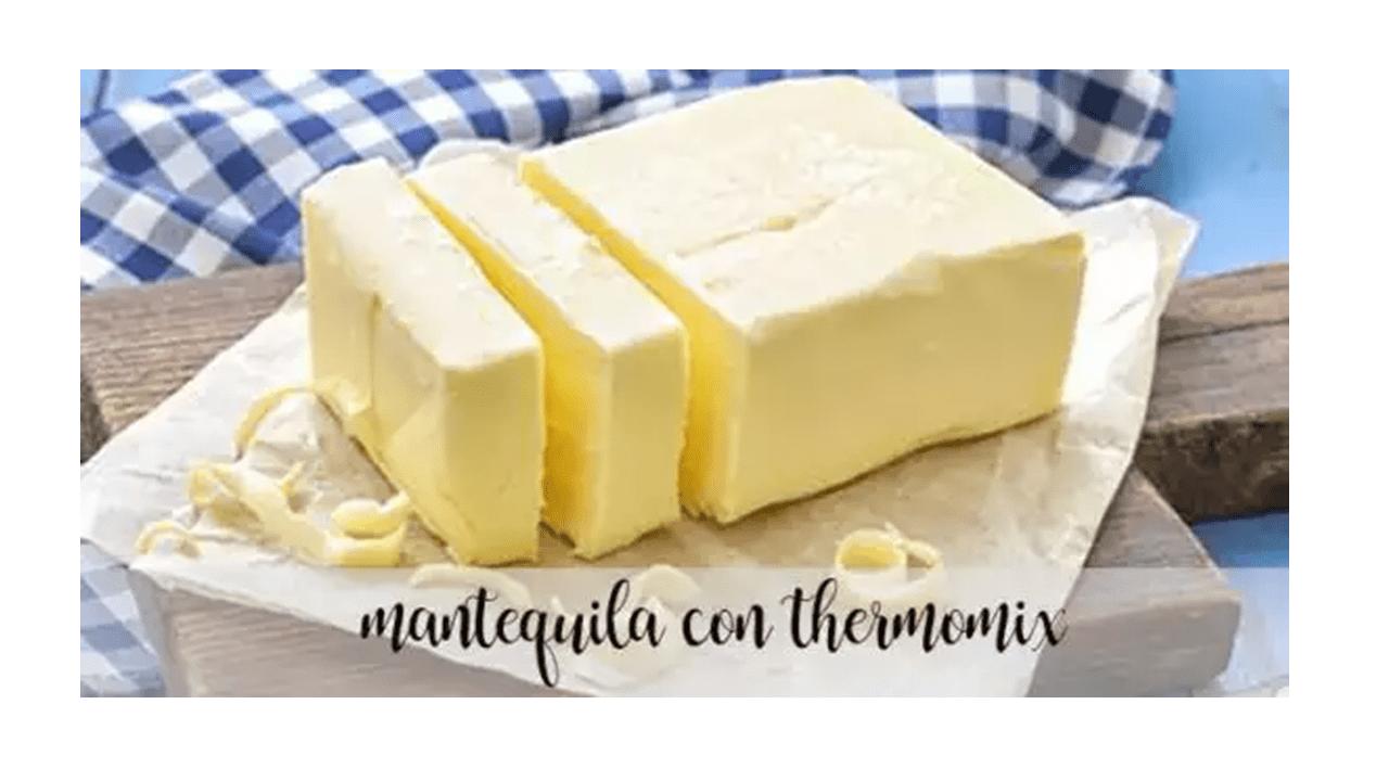 Butter mit dem Thermomix