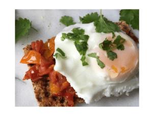 Wie man pochierte Eier auf dem Thermomix macht