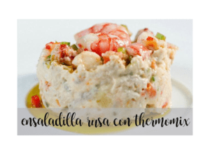 Russischer Salat mit Thermomix