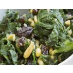 Spinat mit Rosinen Rezept bei Thermomix