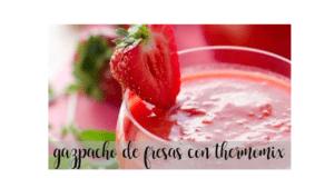 Erdbeer-Gazpacho mit Thermomix