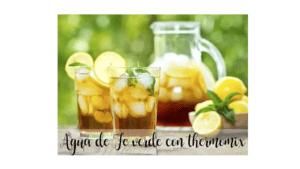 Grünes Teewasser mit Thermomix