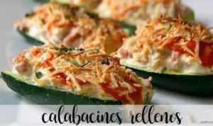 Mit Thermomix gefüllte Zucchini