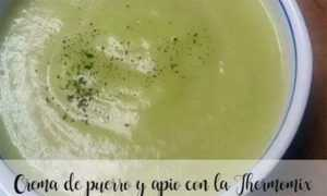 Lauch-Sellerie-Creme mit dem Thermomix