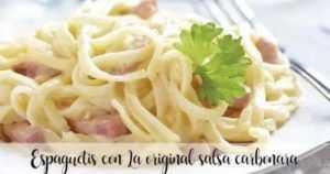 Spaghetti Carbonara mit Thermomix