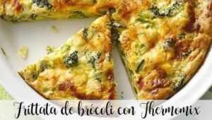 Brokkoli-Frittata mit Thermomix