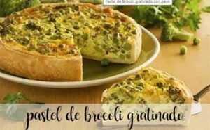 Gratinierter Truthahn-Brokkoli-Kuchen mit Thermomix
