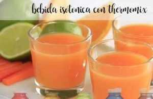 Isotonisches Getränk mit Thermomix