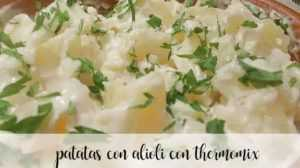 Kartoffeln mit Aioli mit dem Thermomix